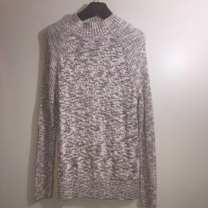 Croft & Barrow mock neck sweater. Size Large